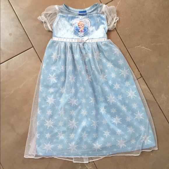 Disney Pajamas | Elsa Girls Nightgown | Poshmark